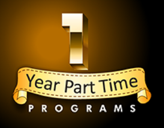 One Year<br> Part Time Programs