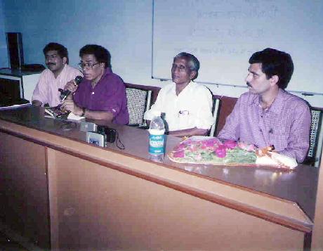 Mr. Mahesh Mhatre, Mr. V Gangadhar, Mr. G R Khairnar, Mr. Bhuvendra Tyagi