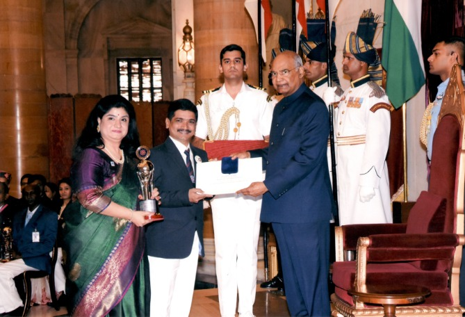 NSS National Award Delhi